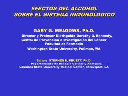 Efectos del Alcohol sobre el Sistema Inmunológico