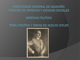 Universidad nacional de asuncion Derecho Político