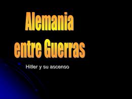 5 ALEMANIA Y HITLER - Prepa 20-30