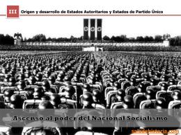 Ascenso del Nacionalsocialismo