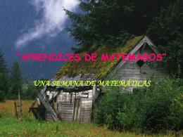 """APRENDICES DE MATEMAGOS"""