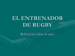 CER 2013 Clase 4 - El Rol del Entrenador