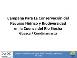 Campaña de Orgullo (PRIDE) Para La Conservación del Recurso