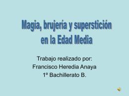 Magia, brujería y superstición