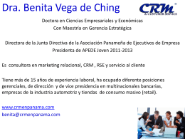 Gestion de Compras - Business Institute of the Americas