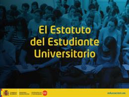 Presentación del Estatuto del Estudiante