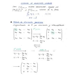 Sistema de valores y vectores propios de una matriz