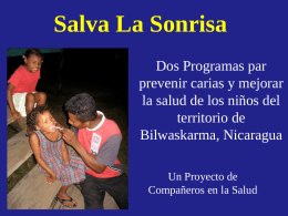 Salva La Sonrisa - Save Their Smiles