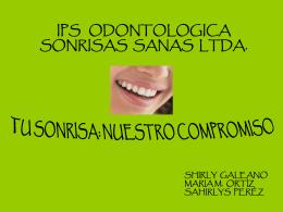 12016_Presentación SONRISAS SANAS LTDA