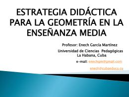 Presentación Estrategia Didáctica