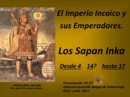 emperadores incas - Holismo Planetario en la Web
