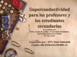 Superconductividad para los profesores y los estudiantes