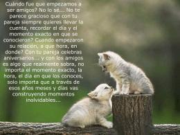 Un amigo - Presentaciones.org
