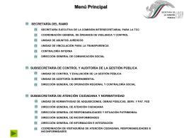 Diciembre 2003 Dirección General de Atención Ciudadana
