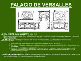 PALACIO DE VERSALLES.PARA CLASE