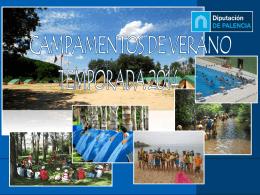 Presentación Campamentos 2014