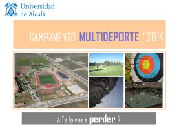 CAMPAMENTO MULTIDEPORTE ` 2007
