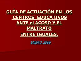 GUÍA DE ACTUACIÓN