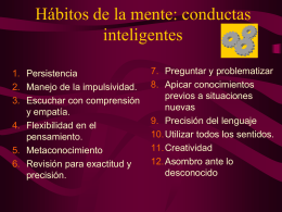 12 conductas inteligentes
