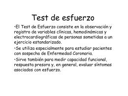 Test de esfuerzo-descripcion y ejemplos