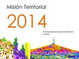 ¿En qué consiste la Misión Territorial?