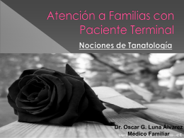 Atención a Familiar con Paciente Terminal