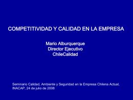 el modelo chileno de gestión de excelencia