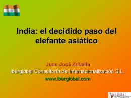 Presentación sobre India