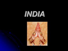 INDIA - misionessim