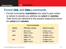 3.3 Commands