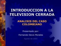 Ponencia Dr. Fernando Devis M. T.V. Cerrada