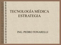 Estrategia de mantenimiento y control de calidad de equipos médicos.