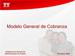 Modelo General de Cobranza