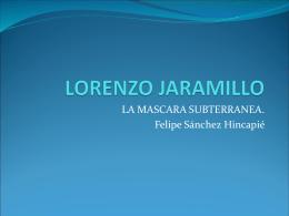 LORENZO JARAMILLO