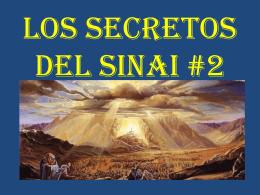 LOS SECRETOS DEL SINAI # 2 Monte de Efraim