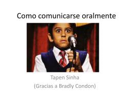 Como comunicarse oralmente