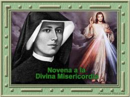 Novena y Coronilla a la Divina Misericordia