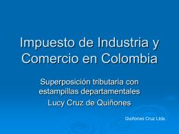 """Presentación """"Impuesto de Industria y Comercio en Colombia"""""""