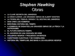 Stephen Hawking - QUIMICA-INGENIERIAENERGIA