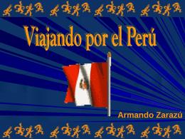 PERU: PATRIMONIO DE LA HUMANIDAD
