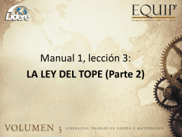 topes - UML Venezuela