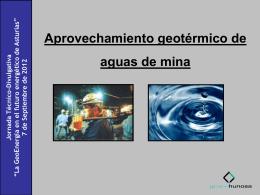 La GeoEnergía en el futuro energético de Asturias