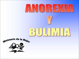 ¿Qué es la Anorexia Nerviosa y la Bulimia?