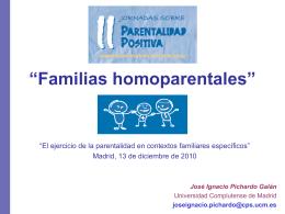 """Familias homoparentales"""