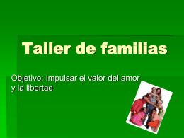 Taller de familias amor (x)