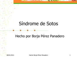 Sindrome de Sotos es una enfermdad rara - TICO