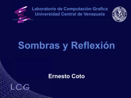 Sombras y Reflexiones - Centro de Computación Gráfica