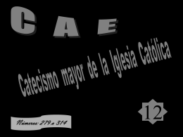 catecismo 12 - Salesianos Pozoblanco
