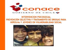 Prevención comunitaria en Chile