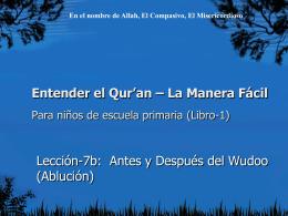 Su Señor - Understand Quran Academy